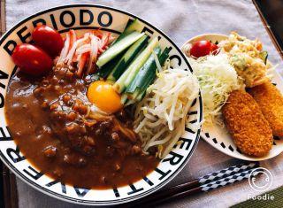 おうちごはん「炸醤麺」