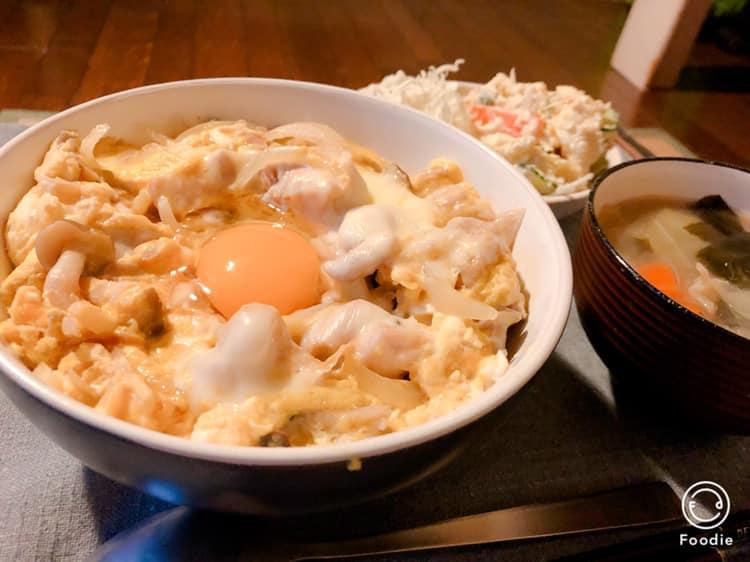 親子丼アレンジレシピ