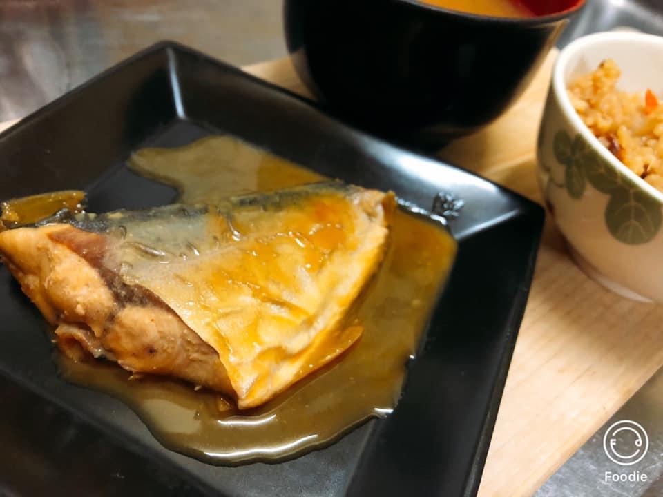 おうちごはん「鯖の味噌煮」