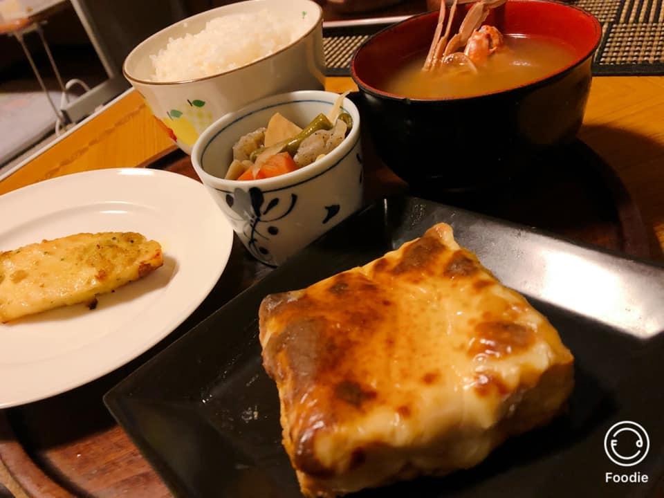 おうちごはん「厚揚げ豆腐の味噌チーズ焼き」